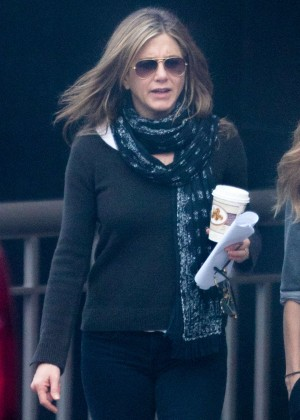 Jennifer Aniston on the Set of 'The Yellow Bird' in Atlanta