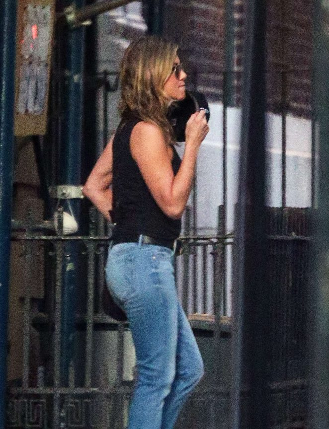 Jennifer Aniston - Out and about in New York City