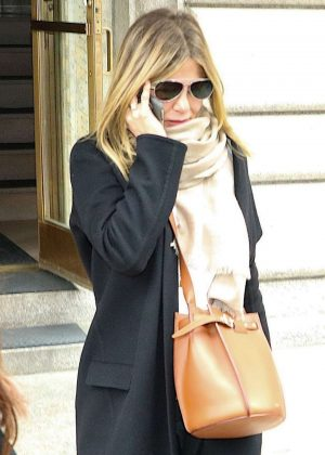 Jennifer Aniston out in New York City
