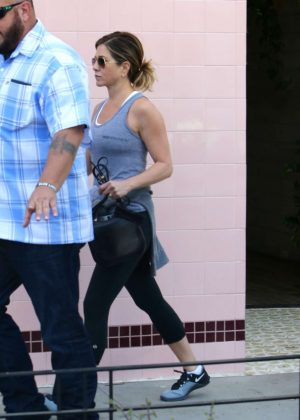 Jennifer Aniston out in West Hollywood