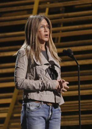 Jennifer Aniston - Rehearsals for the 89th Annual Academy Awards in LA