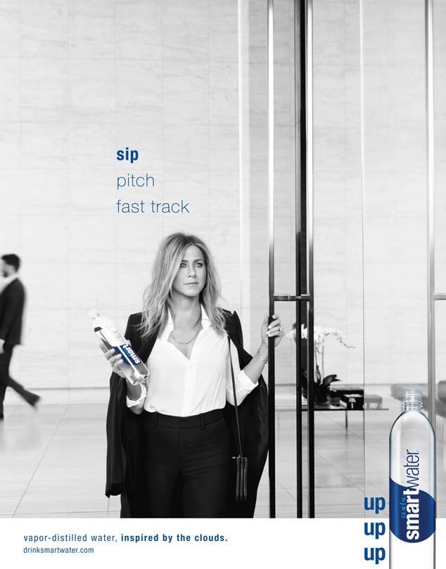 Jennifer Aniston - Smartwater Ad Campaign 2015