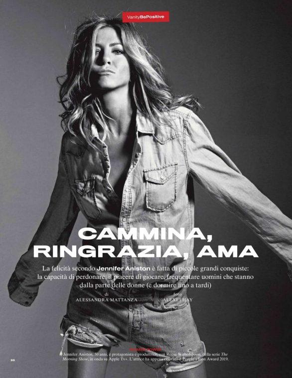 Jennifer Aniston - Vanity Fair Italy Magazine (November 2019)