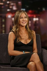 Jennifer Aniston - Visits Jimmy Kimmel Live in Hollywood