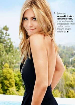 Jennifer Aniston - Yo Dona Spain Magazine (January 2015)