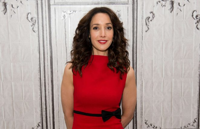 Jennifer Beals at AOL Build -02