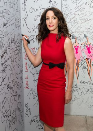 Jennifer Beals at AOL Build in New York