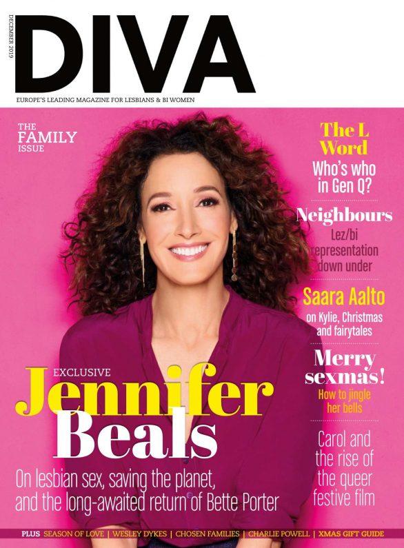 Jennifer Beals - Diva UK Magazine (December 2019)
