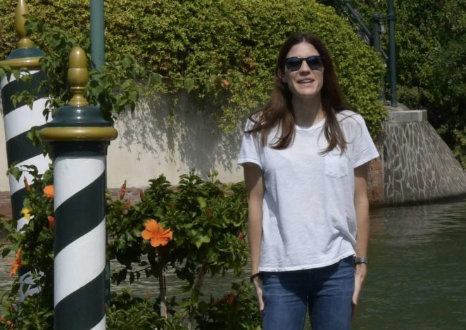 Jennifer Carpenter: Arrives at the Lido during 2017 Venice Film Festival in Italy-02