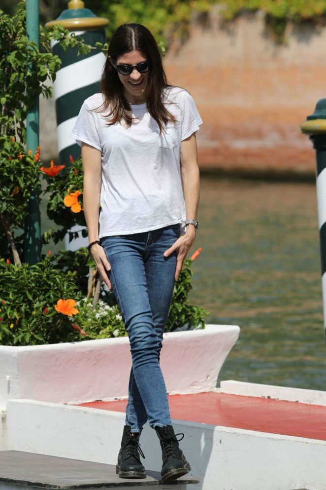 Jennifer Carpenter: Arrives at the Lido during 2017 Venice Film Festival in Italy-07