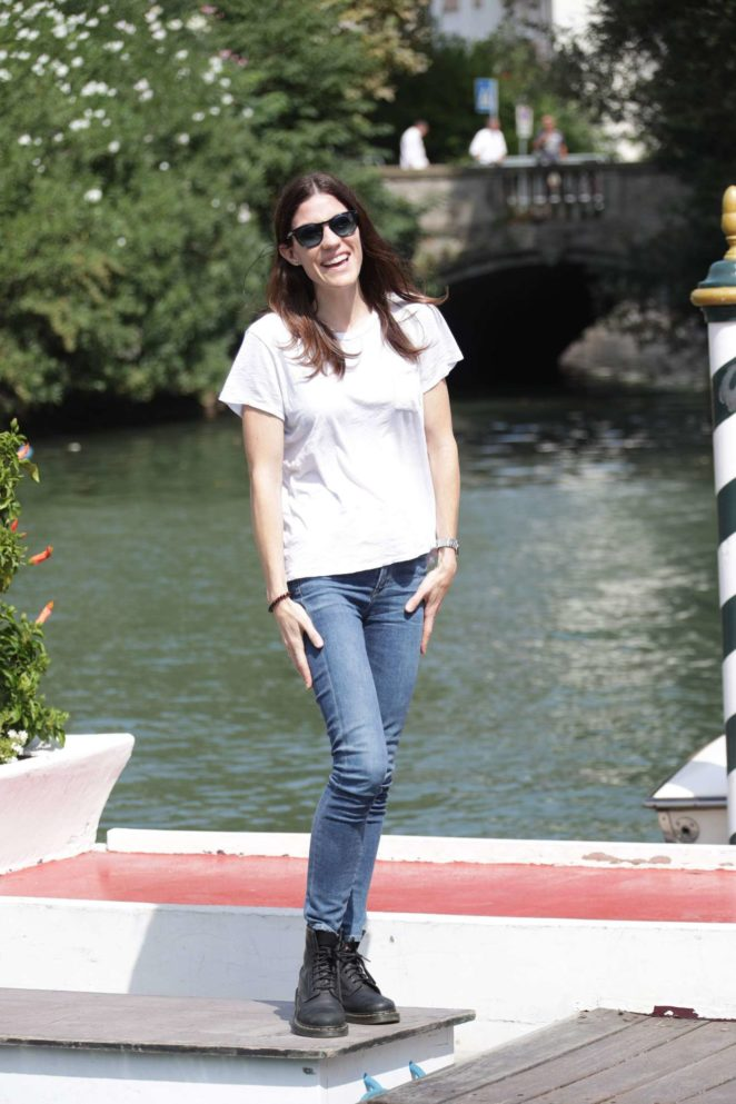 Jennifer Carpenter: Arrives at the Lido during 2017 Venice Film Festival in Italy-08