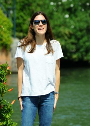 Jennifer Carpenter - Arrives at the Lido during 2017 Venice Film Festival in Italy