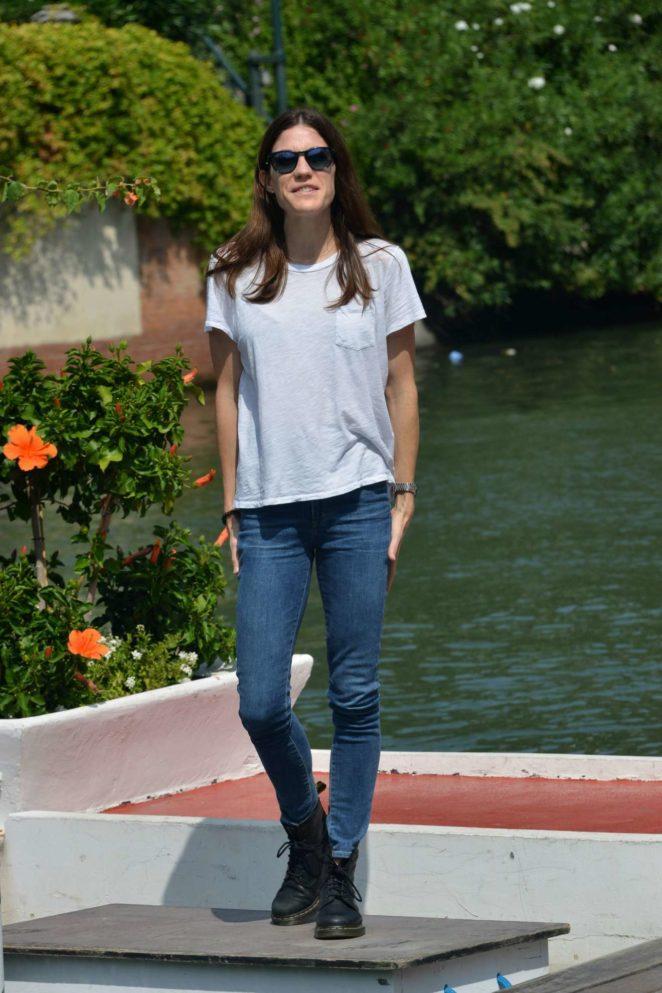 Jennifer Carpenter: Arrives at the Lido during 2017 Venice Film Festival in Italy-12