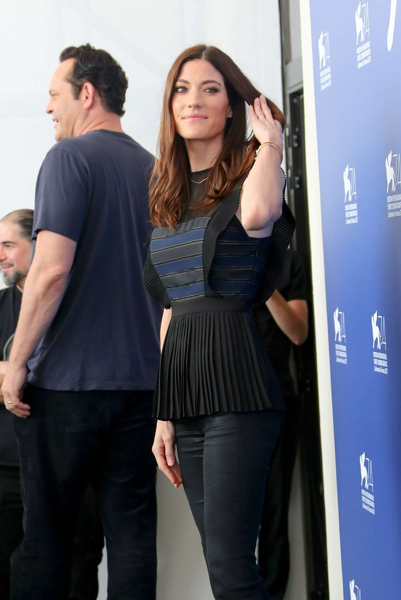 Watch Jennifer carpenter brawl in cell block 99 photocall at the venice festival video