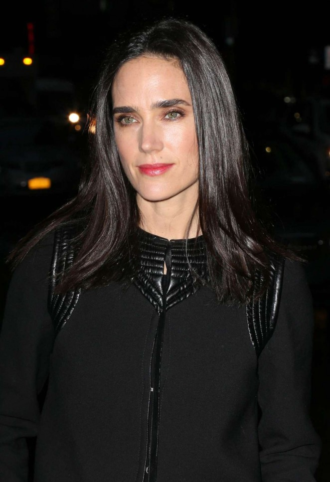Jennifer Connelly - Arriving at 'Late Show with Stephen Colbert' in NYC