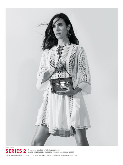 Jennifer Connelly by Bruce Weber for Louis Vuitton 2015