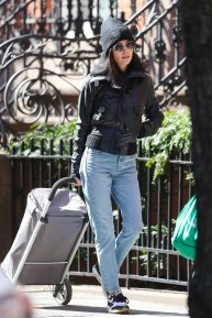 Jennifer Connelly casual style - Seen out in New York