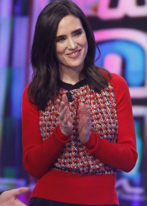 "Jennifer Connelly - ""El Hormiguero"" TV Show in Madrid"