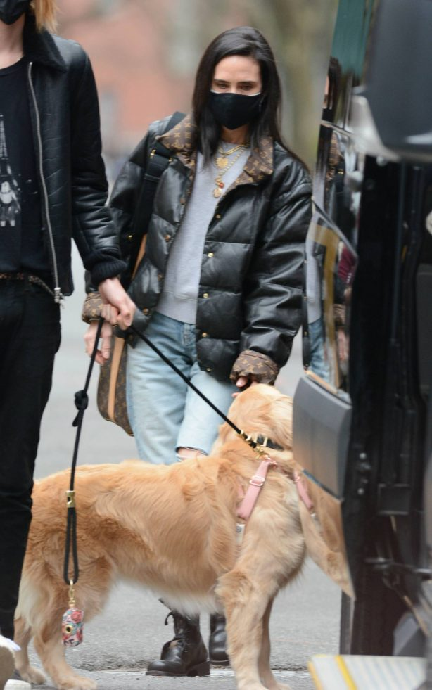 Jennifer Connelly - Out in New York City