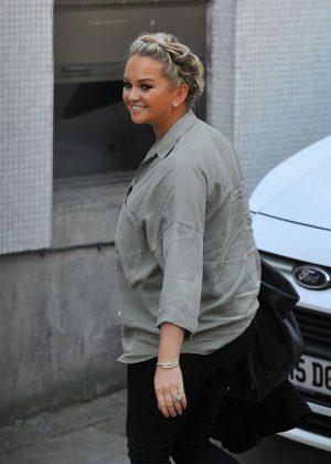Jennifer Ellison Arriving at ITV for the Loose Women show in London