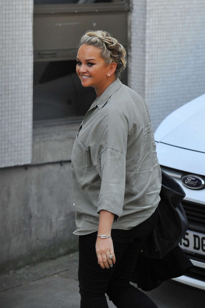 Jennifer Ellison Arriving at ITV for the Loose Women show in London