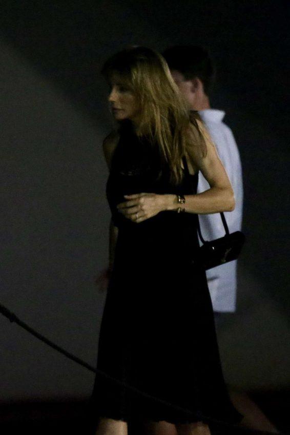 Jennifer Flavin and Scarlet Sistine and Sophia - Night out in Croatia