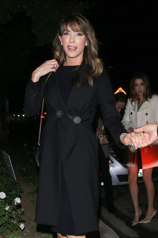 Jennifer Flavin at the Esquire and the Medavoys Party in Beverly Hills