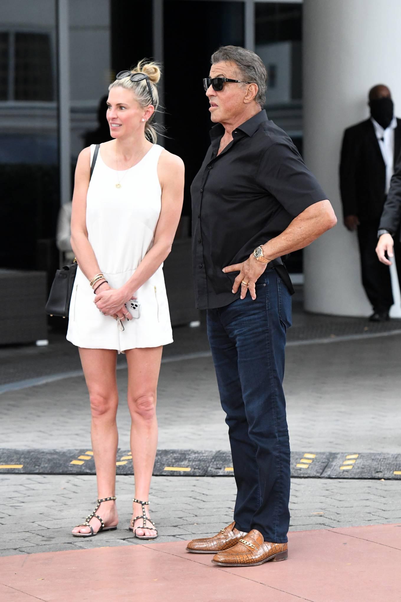 Jennifer Flavin 2021 : Jennifer Flavin – Leaving the Setai Hotel in Miami-25