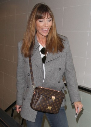 Jennifer Flavin Stallone - Arriving at LAX Airport in LA