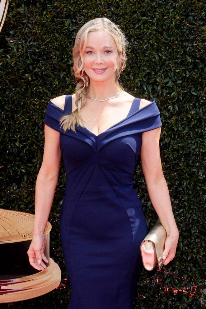 Jennifer Gareis – 2018 Daytime Emmy Awards in Pasadena