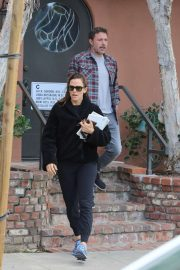 Jennifer Garner and Ben Affleck - Take Samuel to an appointment in Santa Monica
