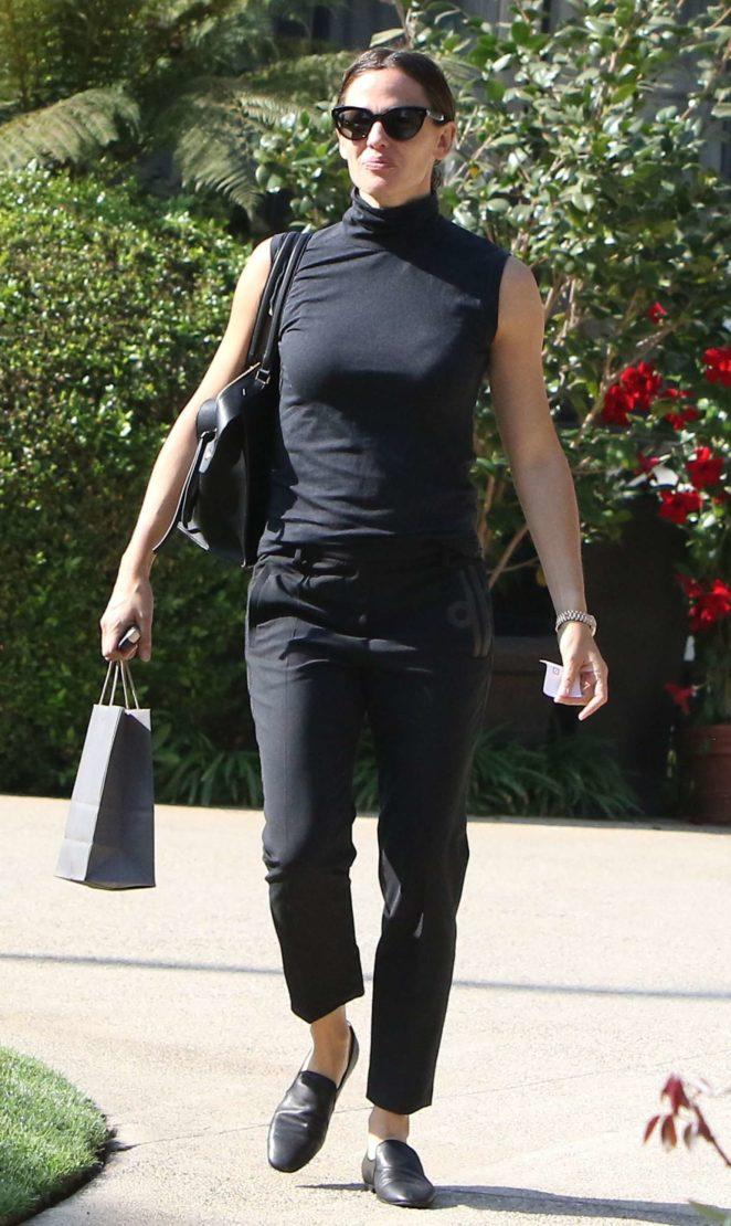 Jennifer Garner arrived to a private event in Los Angeles