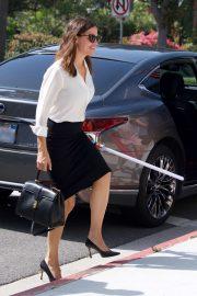Jennifer Garner - Arrives at Church in Brentwood