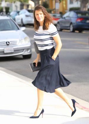 Jennifer Garner - Arrives to Sunday church service in Brentwood