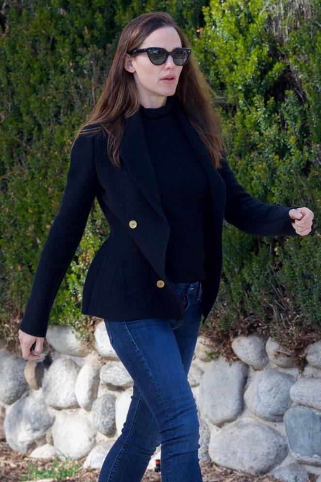 Jennifer Garner at E Baldi in Beverly Hills