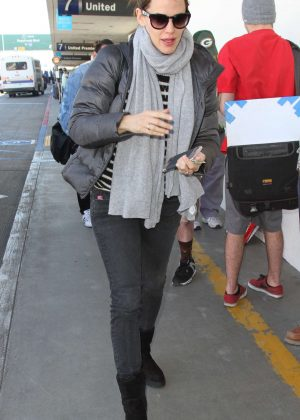 Jennifer Garner at LAX Airport in Los Angeles