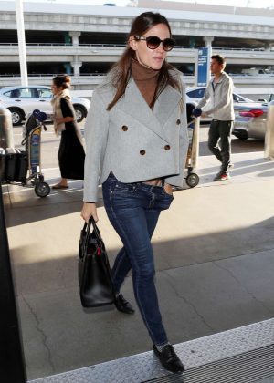 Jennifer Garner at LAX International Airport in LA