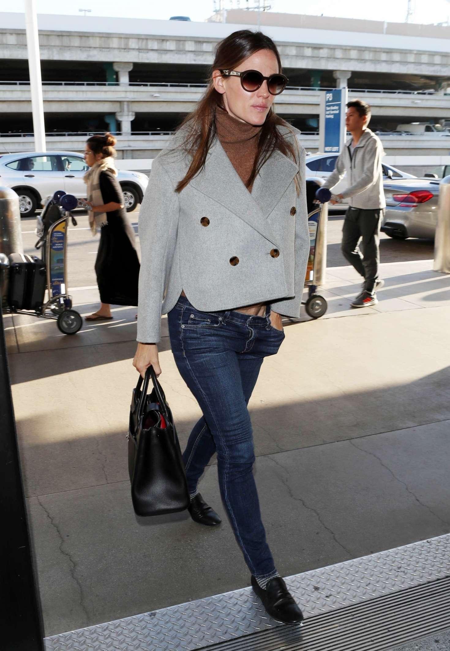 Jennifer Garner at LAX International Airport in LA