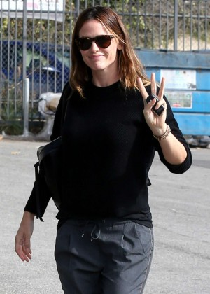 Jennifer Garner at office for a new project called Wakefield in LA