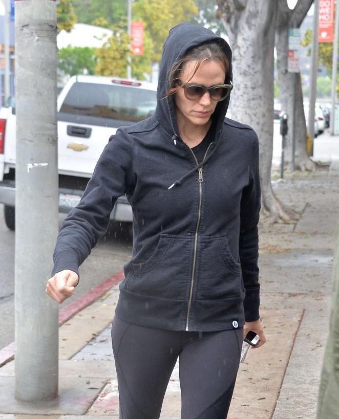 Jennifer Garner at the Gym in West Hollywood