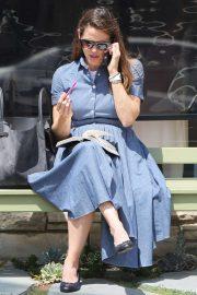 Jennifer Garner - Attending Church in Los Angeles