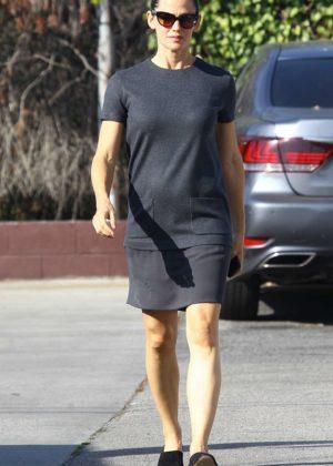 Jennifer Garner attending church services in Brentwood