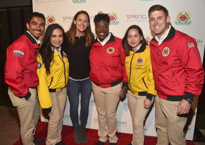 Jennifer Garner - City Year Los Angeles Spring Break in LA