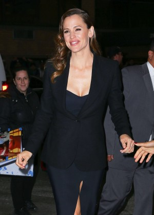 Jennifer Garner in Black Dress out in New York