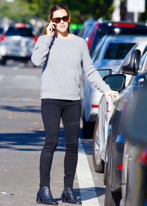 Jennifer Garner in Black Pants - Out in Los Angeles