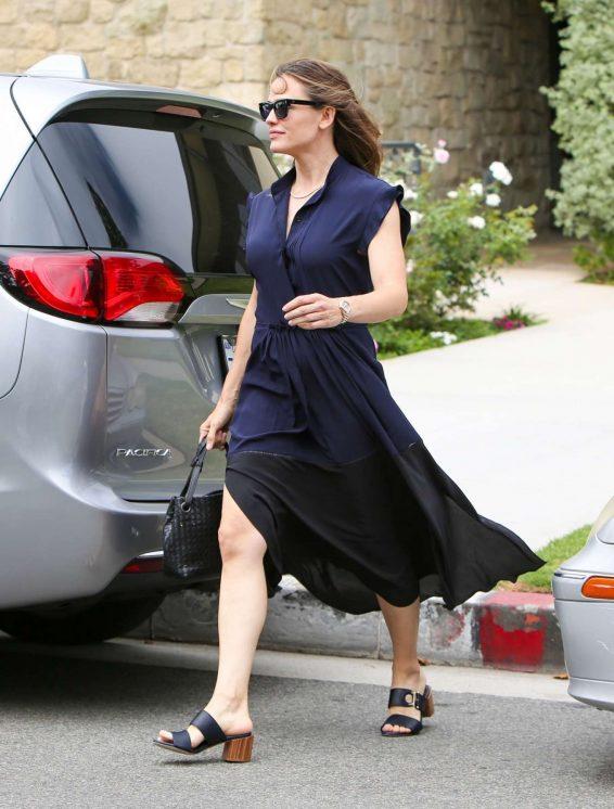 Jennifer Garner in Long Dress - Out in Los Angeles