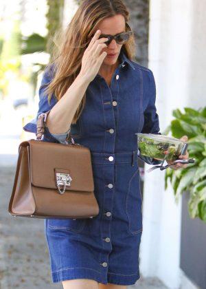 Jennifer Garner in Mini Dress out in Los Angeles