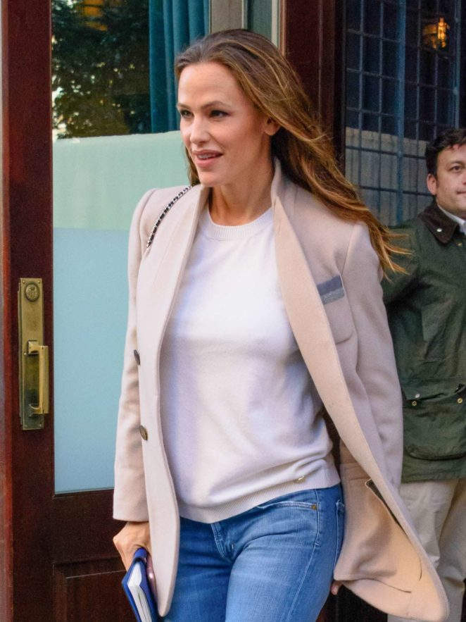 Jennifer Garner - Leaving the Greenwich Hotel in New York City
