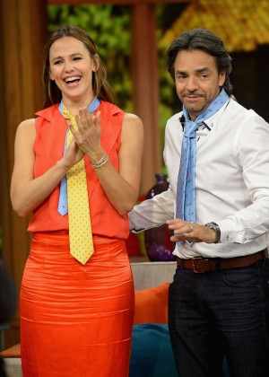 Jennifer Garner on 'Despierta America' in Miami