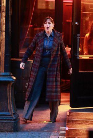 Jennifer Garner - On set of The Adam Project in Vancouver
